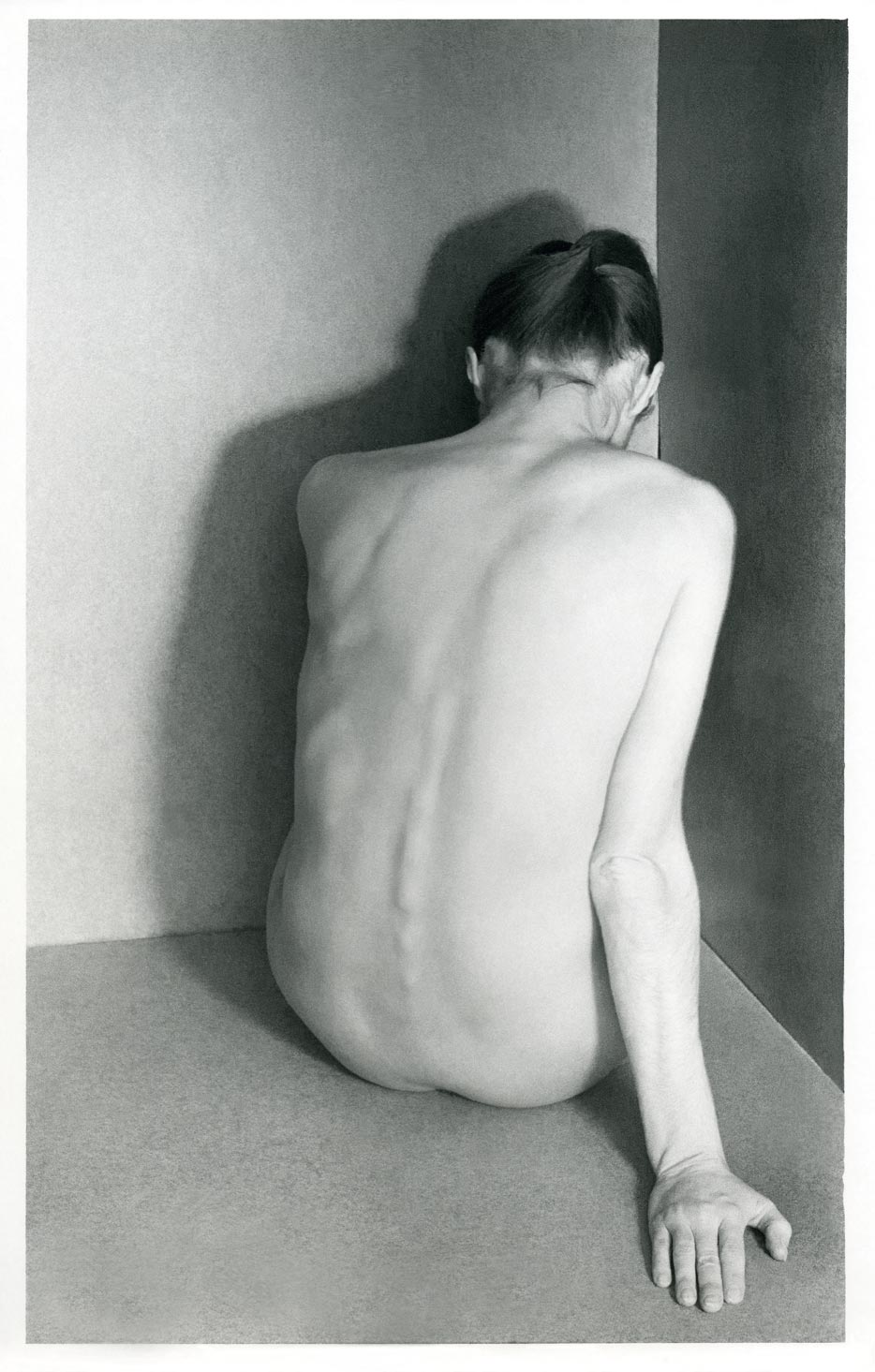 Violeta Bubelytė, Nude, 23, 1983, 2,7 x 19,2 cm. From the MO museum collection.