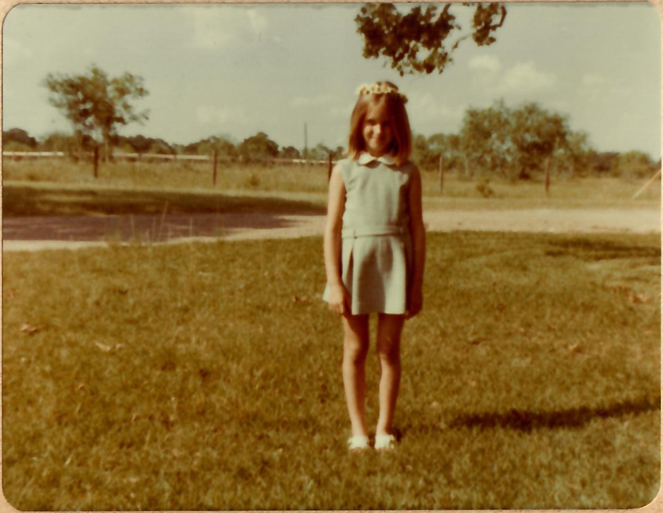 Texas, 1975. On Grass. Author archive photo.