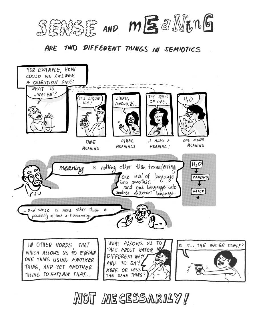 Dr Square Greimas and his semiotics comic 10